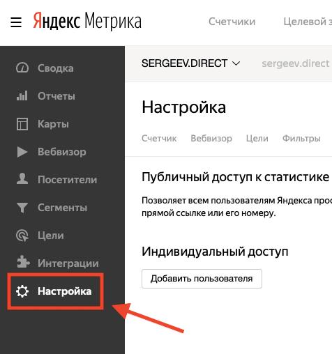Как дать доступ к Яндекс Метрике за пару минут?